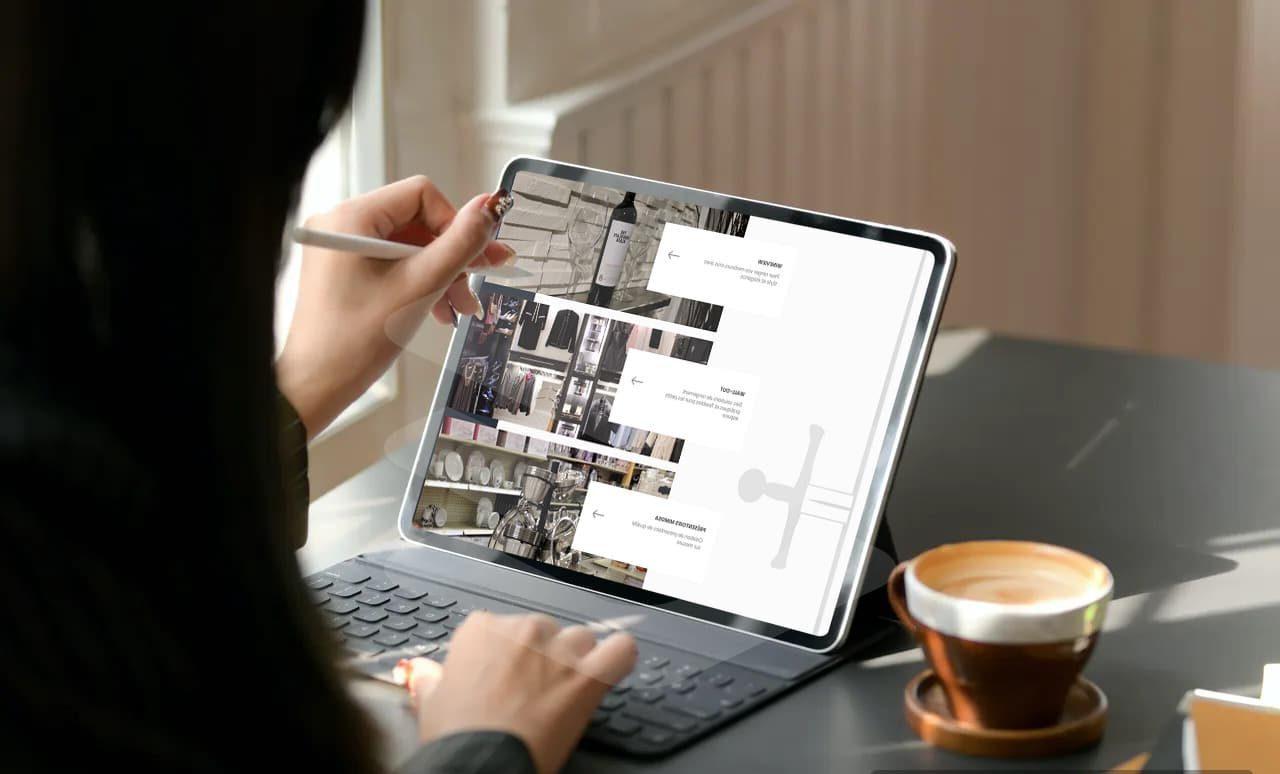 design web pour Excalibur Industries